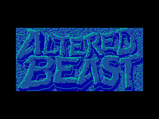 Altered Beast — ZX SPECTRUM GAME ИГРА