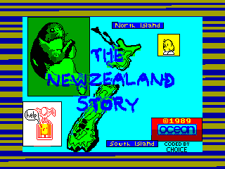 THE NEW ZELAND STORY — ZX SPECTRUM GAME ИГРА