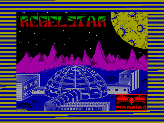REBEL STAR 1 — ZX SPECTRUM GAME ИГРА