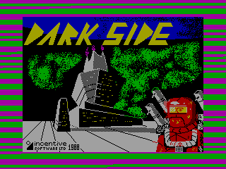 Dark Side — ZX SPECTRUM GAME ИГРА
