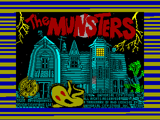 Munsters, The — ZX SPECTRUM GAME ИГРА