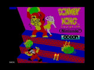Donkey Kong — ZX SPECTRUM GAME ИГРА