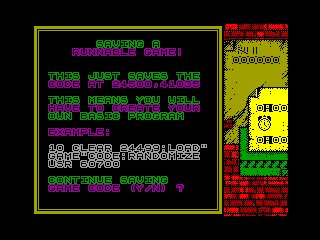 SKATEBOARD CONSTRUCTION SYSTEM — ZX SPECTRUM GAME ИГРА