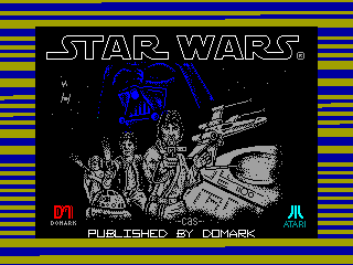 Star Wars — ZX SPECTRUM GAME ИГРА