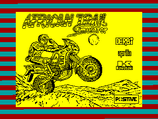 African Trail Simulator — ZX SPECTRUM GAME ИГРА