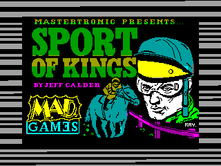 Sport of Kings — ZX SPECTRUM GAME ИГРА