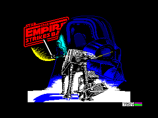 Empire Strikes Back, The — ZX SPECTRUM GAME ИГРА