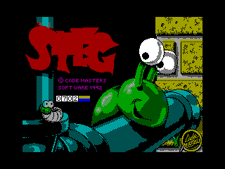 Steg — ZX SPECTRUM GAME ИГРА