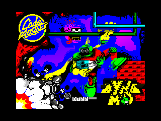 Captain Dynamo — ZX SPECTRUM GAME ИГРА