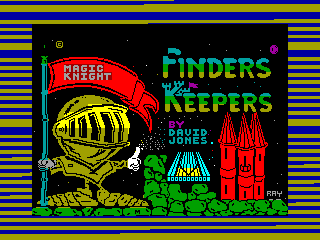 Finders Keepers — ZX SPECTRUM GAME ИГРА