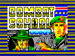 Combat School — ZX SPECTRUM GAME ИГРА