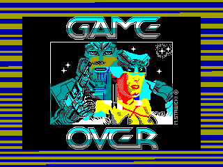 Game Over — ZX SPECTRUM GAME ИГРА