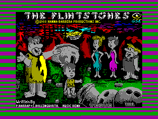 Flintstones, The — ZX SPECTRUM GAME ИГРА
