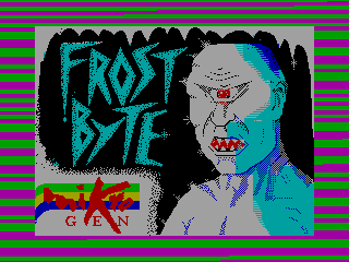 Frost Byte — ZX SPECTRUM GAME ИГРА