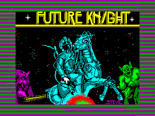 Future Knight — ZX SPECTRUM GAME ИГРА