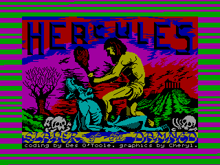 Hercules — ZX SPECTRUM GAME ИГРА
