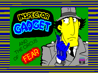 Inspector Gadget and the Circus of Fear — ZX SPECTRUM GAME ИГРА