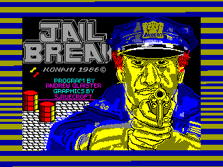 JAIL BREAK — ZX SPECTRUM GAME ИГРА
