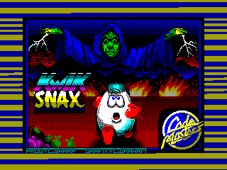 Kwik Snax — ZX SPECTRUM GAME ИГРА