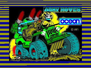 Army Moves — ZX SPECTRUM GAME ИГРА