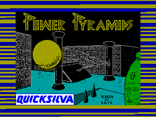 Power Pyramids — ZX SPECTRUM GAME ИГРА