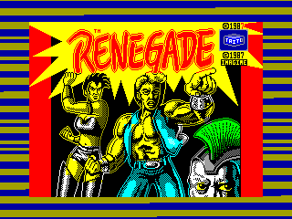 RENEGADE — ZX SPECTRUM GAME ИГРА