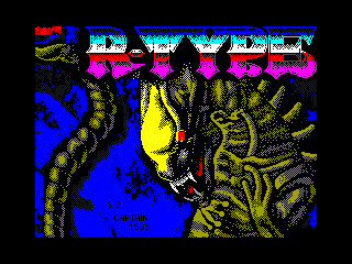 R-Type — ZX SPECTRUM GAME ИГРА