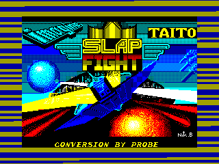 Slap Fight — ZX SPECTRUM GAME ИГРА