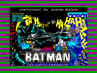 BATMAN 2 — ZX SPECTRUM GAME ИГРА