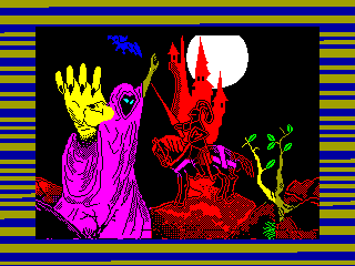 Scramble Spirits — ZX SPECTRUM GAME ИГРА
