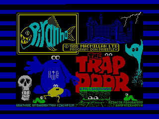 Through the Trap Door — ZX SPECTRUM GAME ИГРА