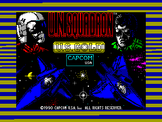U.N. Squadron — ZX SPECTRUM GAME ИГРА